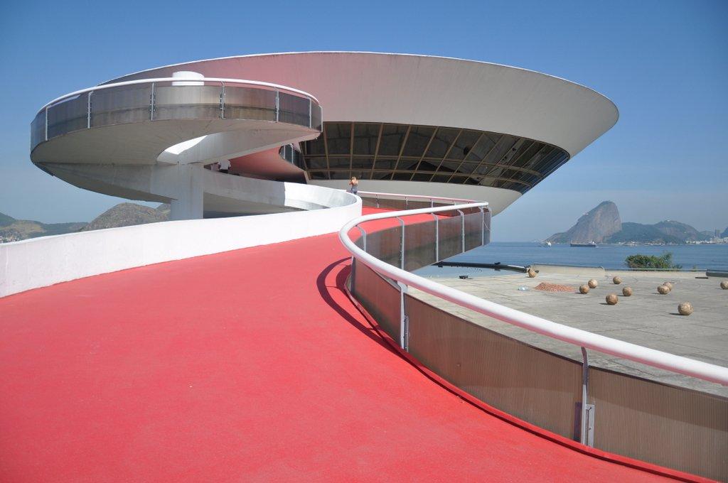 El Museo de Arte Contemporáneo de Niteroi