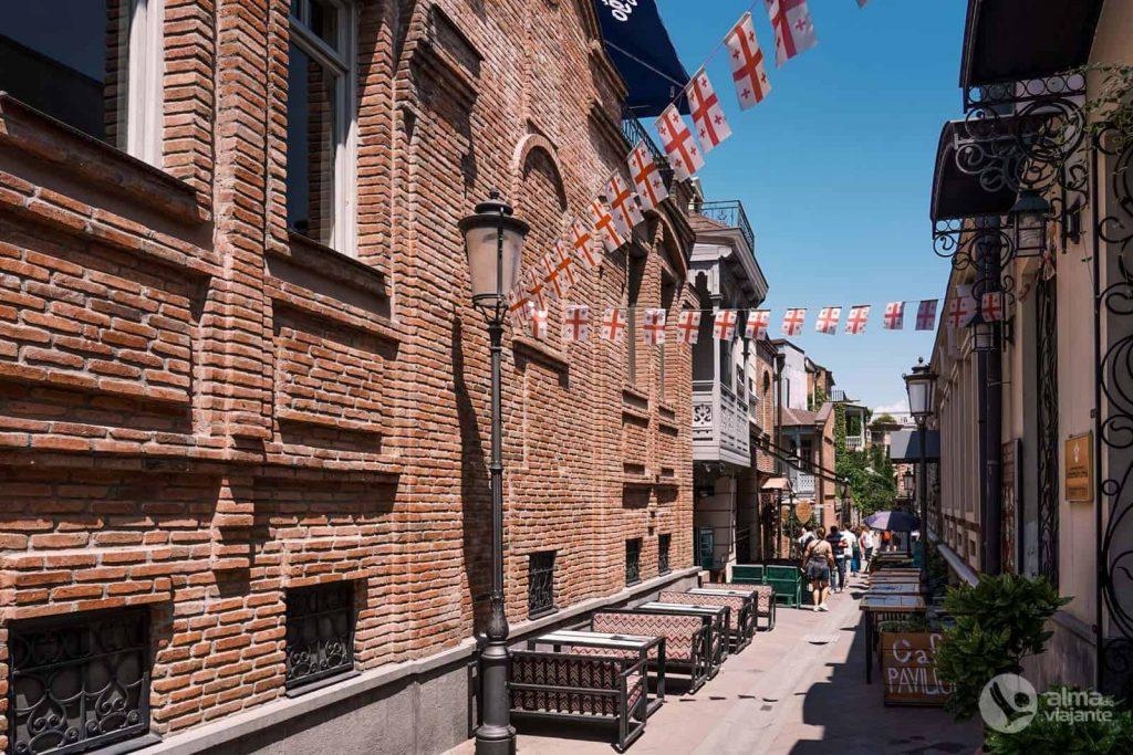 Dónde alojarse en Tiflis: casco antiguo