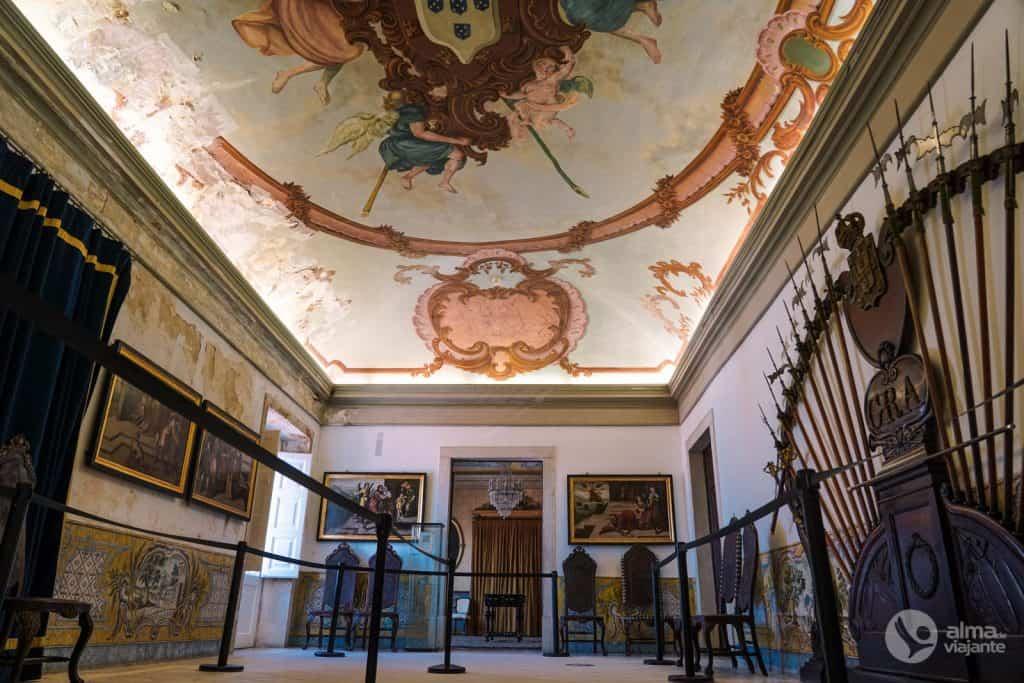 Sala de Armas del Palacio Real de la Universidad de Coimbra