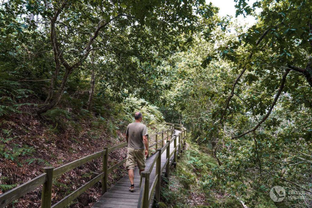 Sendero Rutas marginales del río Miño, en Melgaço