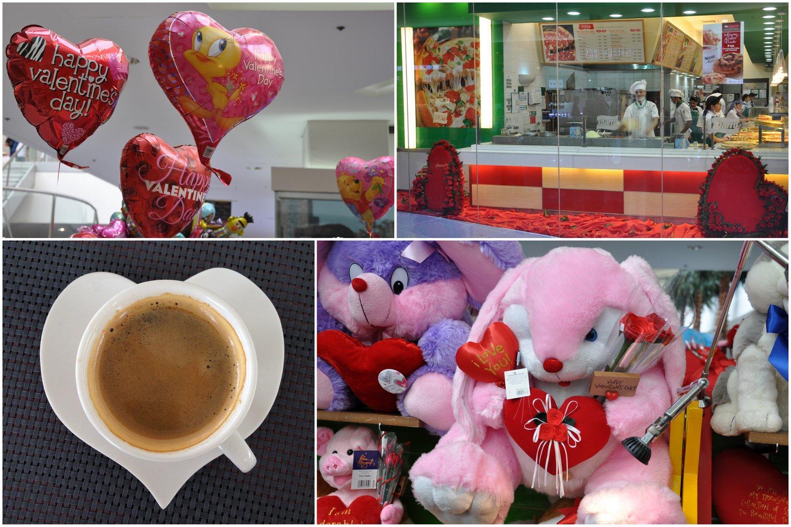 """Efecto """"amor en el aire"""" en Filipinas a pocos días del Día de San Valentín"""