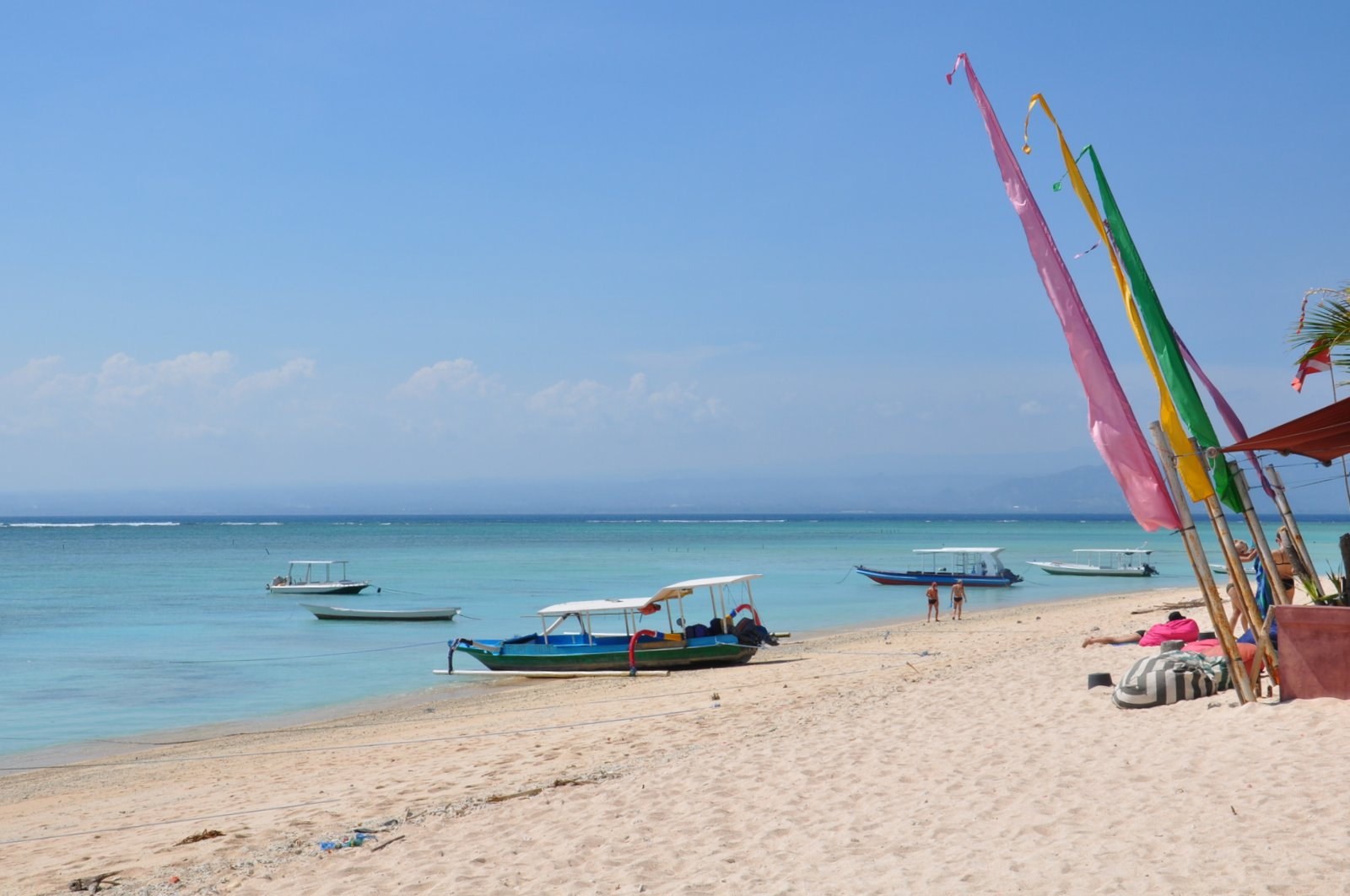 Playa de Jungutbatu en Nusa Lembongan
