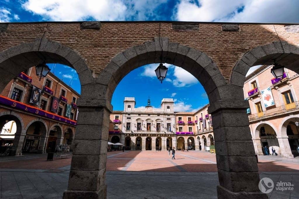 Plaza Mercado Chico, Ávila