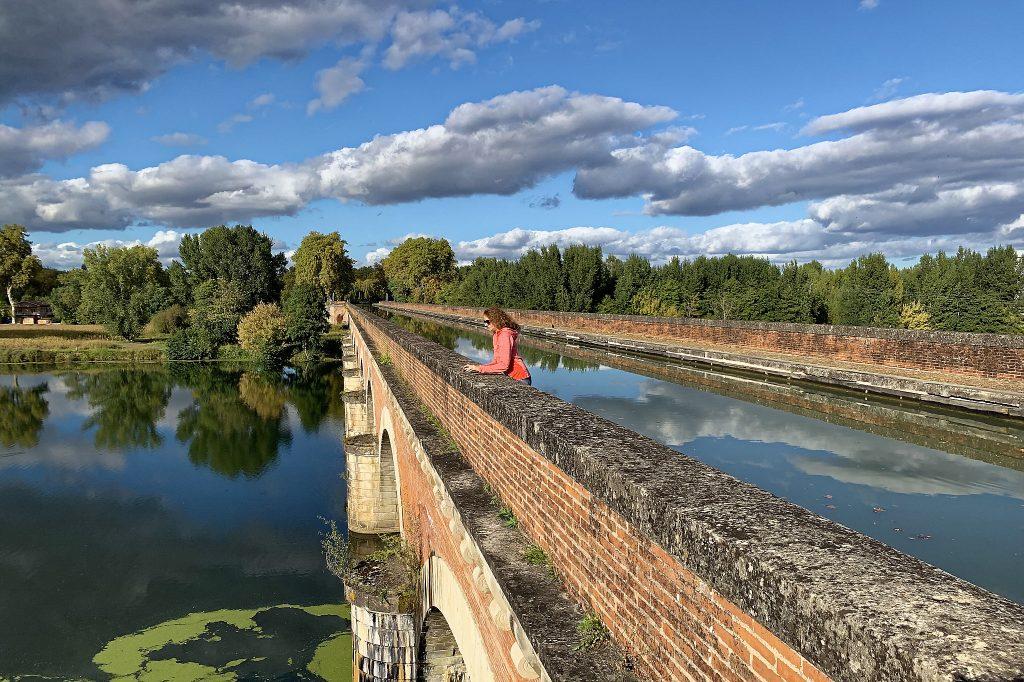 Puente del Canal de Cacor en Moissac