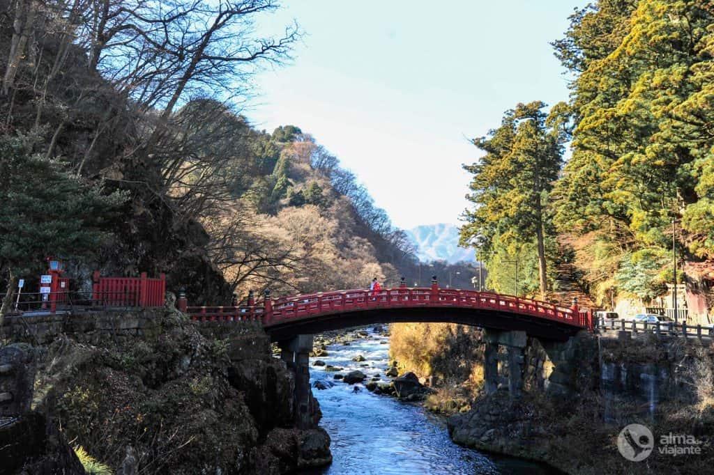 Puente Shinkyo, Nikko