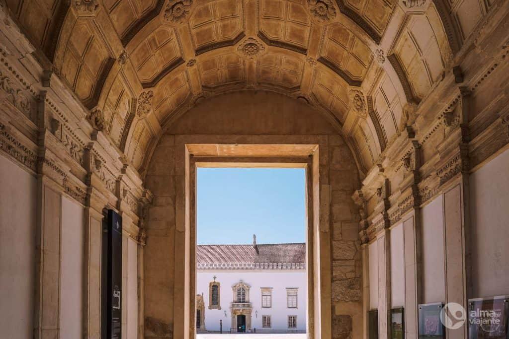 Puerta del Paço das Escolas, Universidad de Coimbra