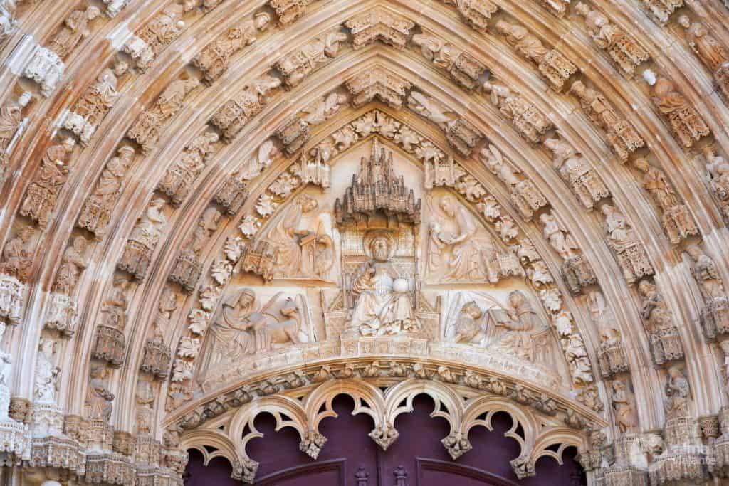Puerta de la Iglesia del Monasterio de Batalha