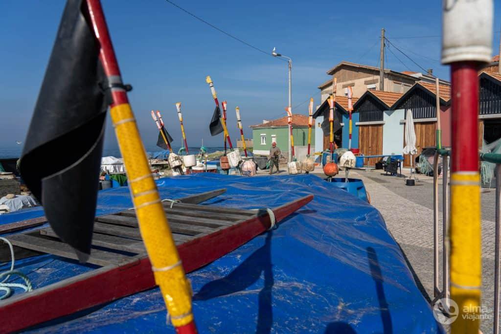 Puerto pesquero de Vila Chã