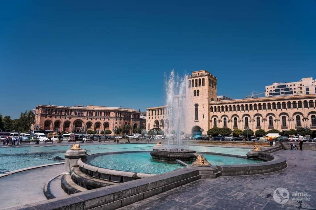 Plaza de la República, Ereván