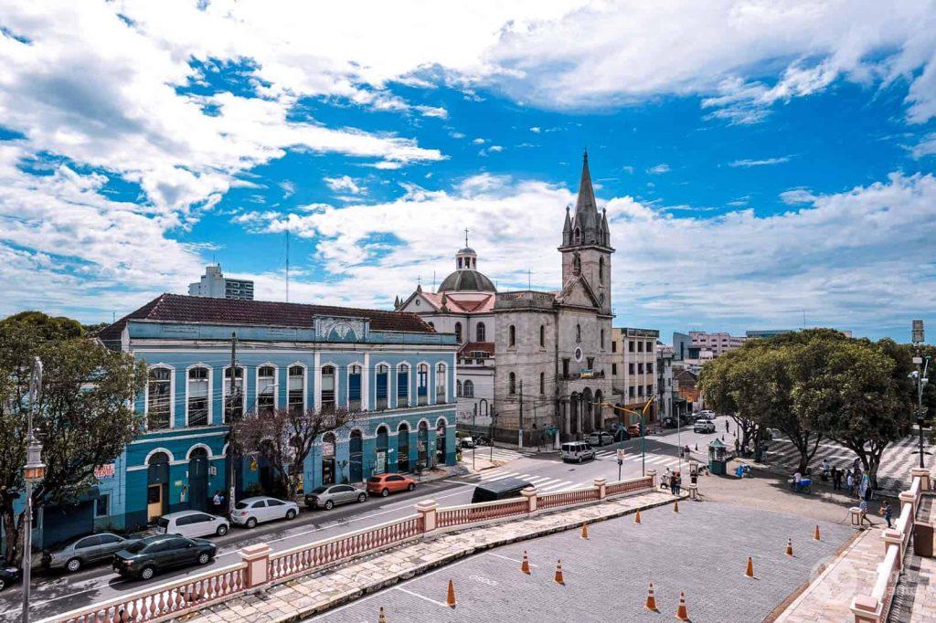 Qué ver en Manaos: Praça São Sebastião