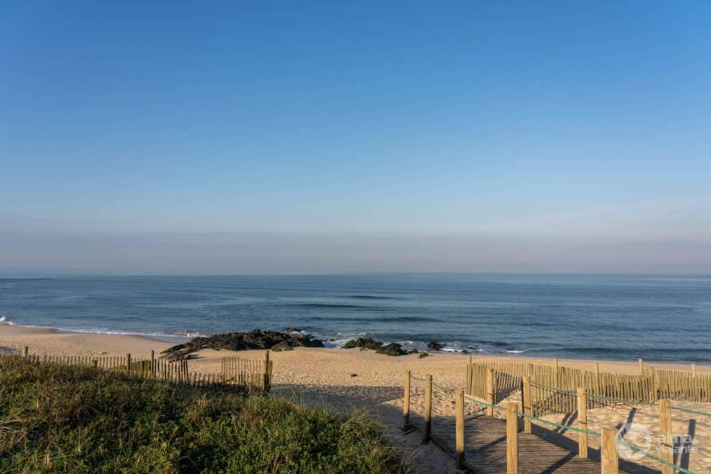 Pasarelas de Vila do Conde: Playa de Azurara