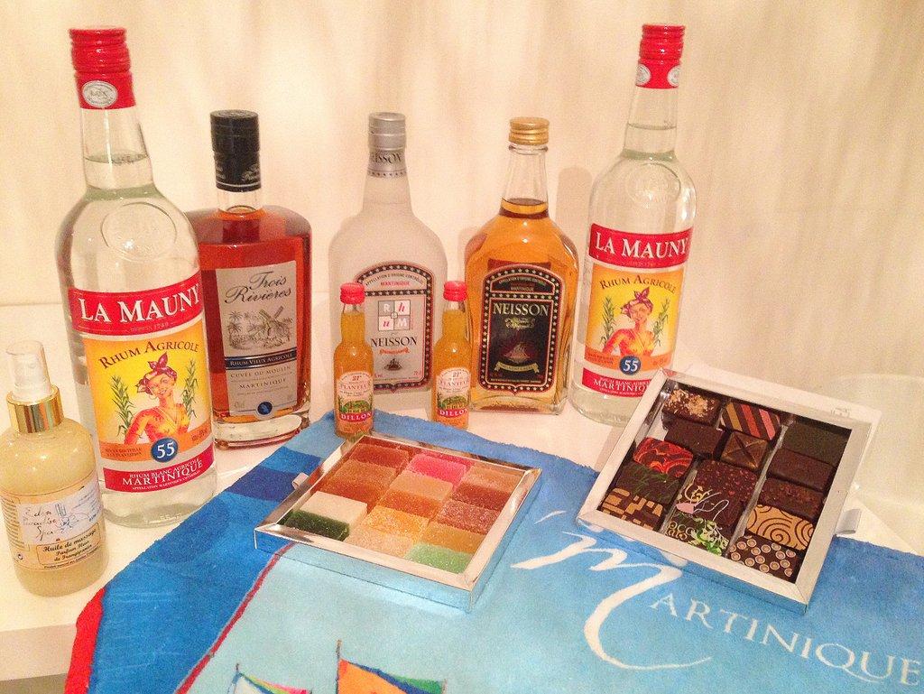 En mis maletas de vuelta de Martinica: botellas de ron y chocolate de los Hermanos Lauzéa