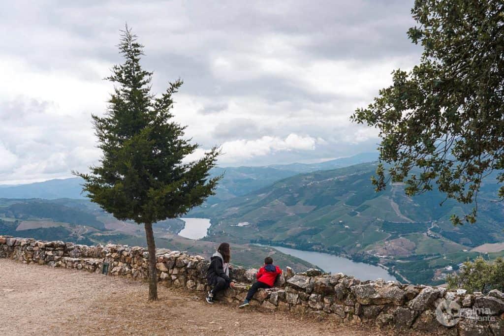 El río Duero, visto desde São Leonardo de Galafura