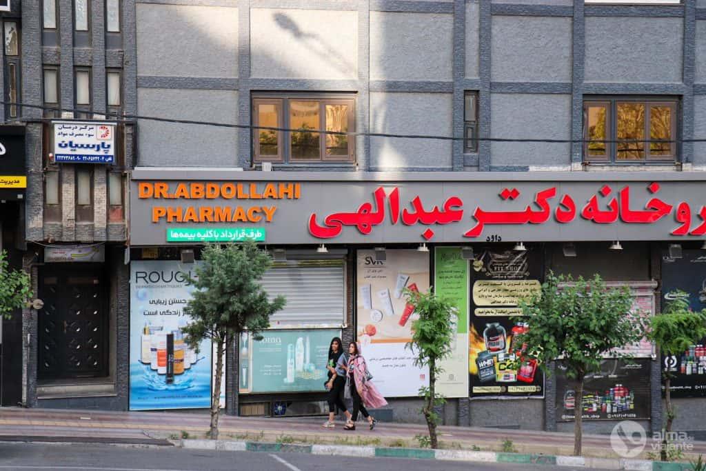 Vivir en Teherán: calle de la capital iraní