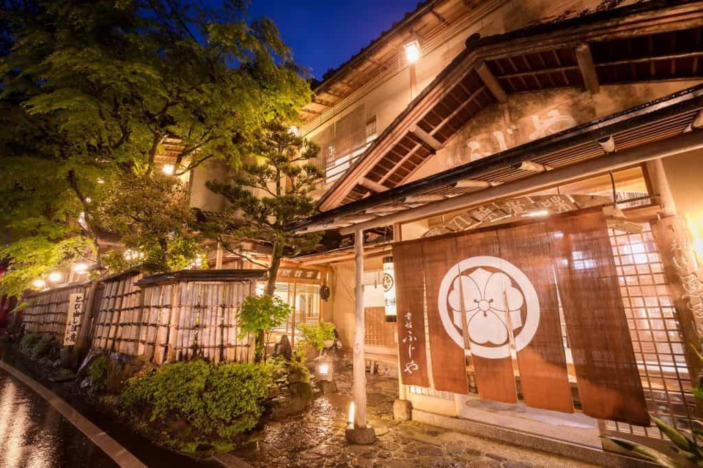 Kibune Fujiya, Kioto