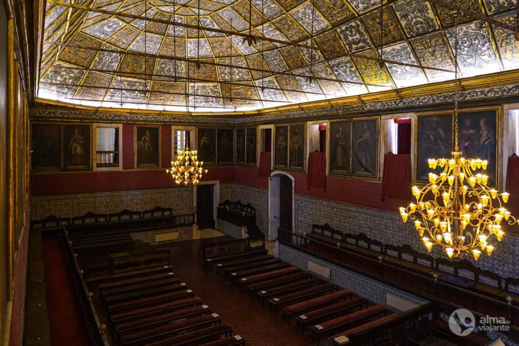 Visita Universidad de Coimbra: Sala dos Atos Grandes