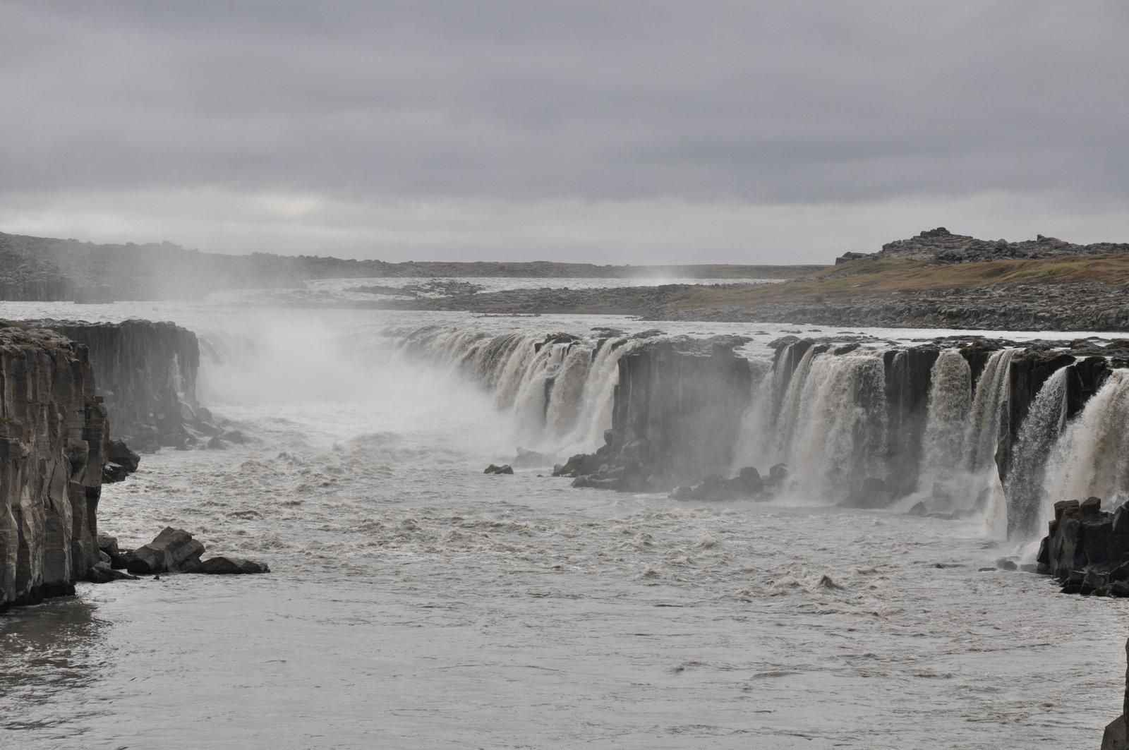 selfoss-Islandia-cascada
