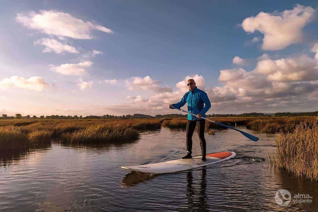 Cosas que hacer en Ovar: Stand Up Paddle en la Ría de Aveiro
