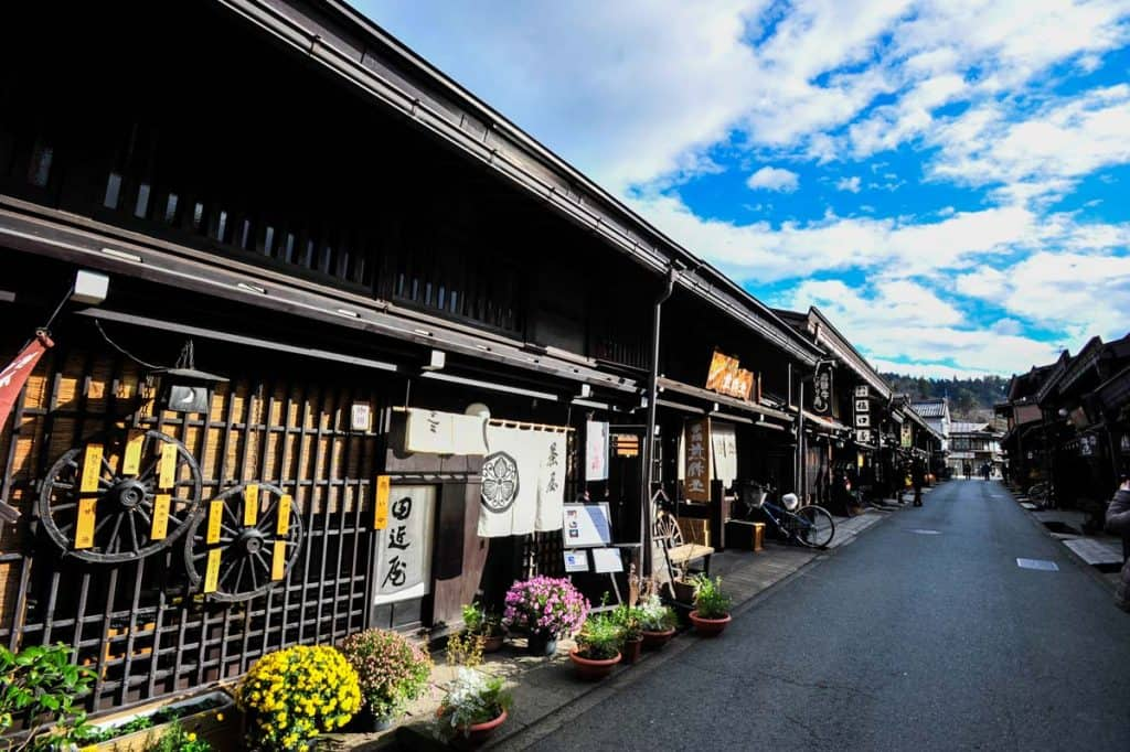 Distrito de Sanmachi Suji, Takayama