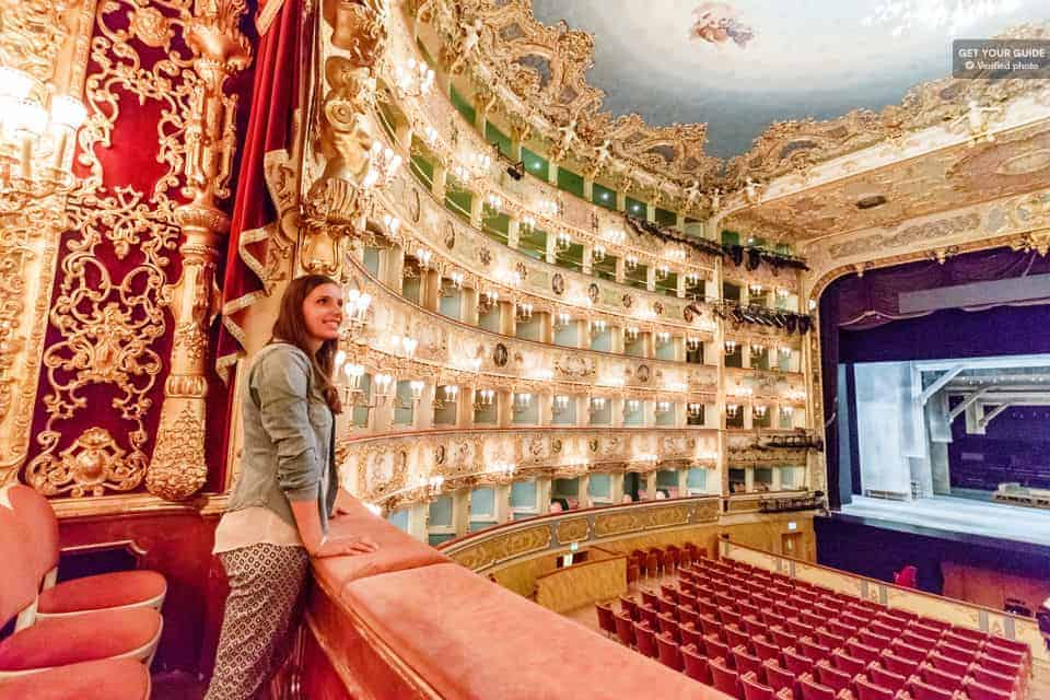 Atracciones en Venecia: Teatro La Fenice