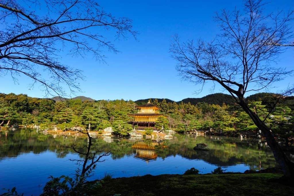 Kinkaku-ji, Templo del Pabellón dorado de Kioto