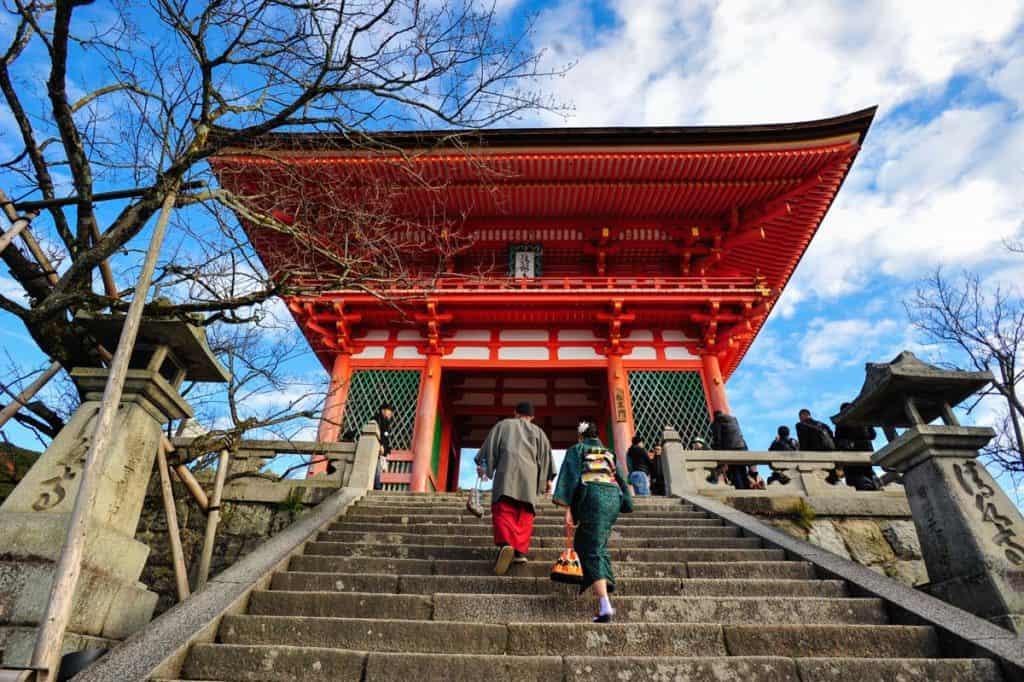 Itinerario en Japón: Templo Kiyomizu Dera, Kioto