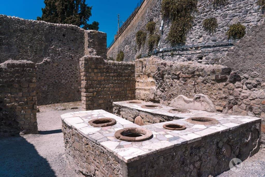 Termopolio, Herculano