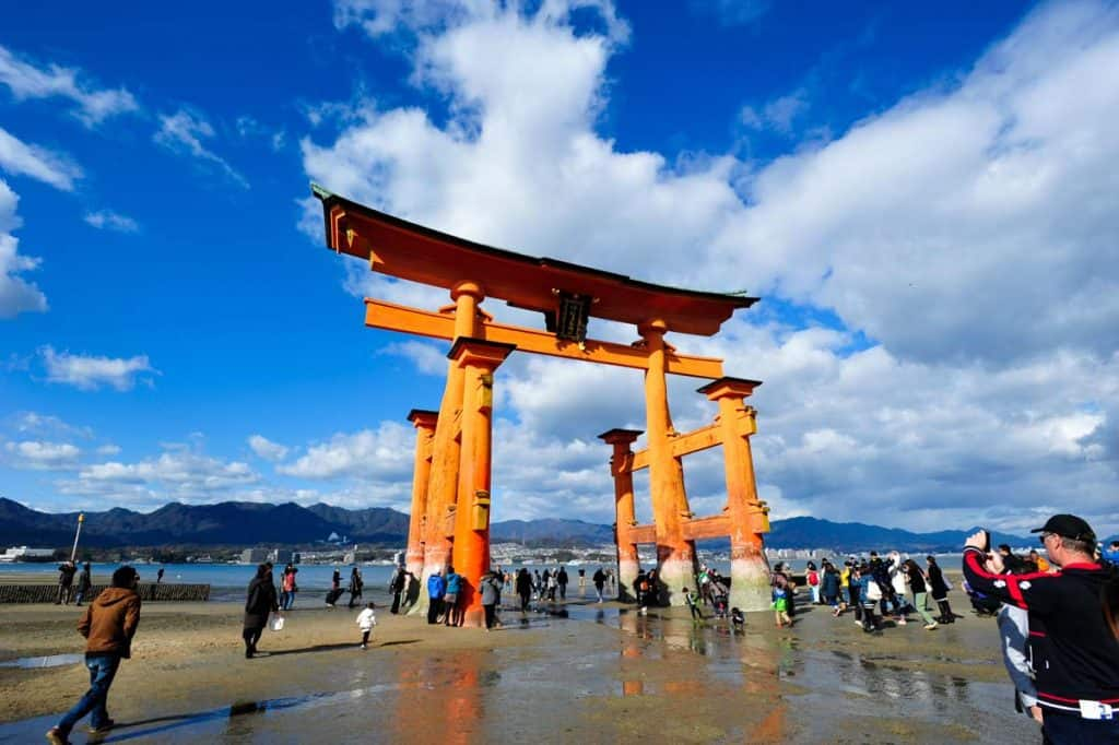 Torii del Santuario de Itsukushima, Isla Miyajima