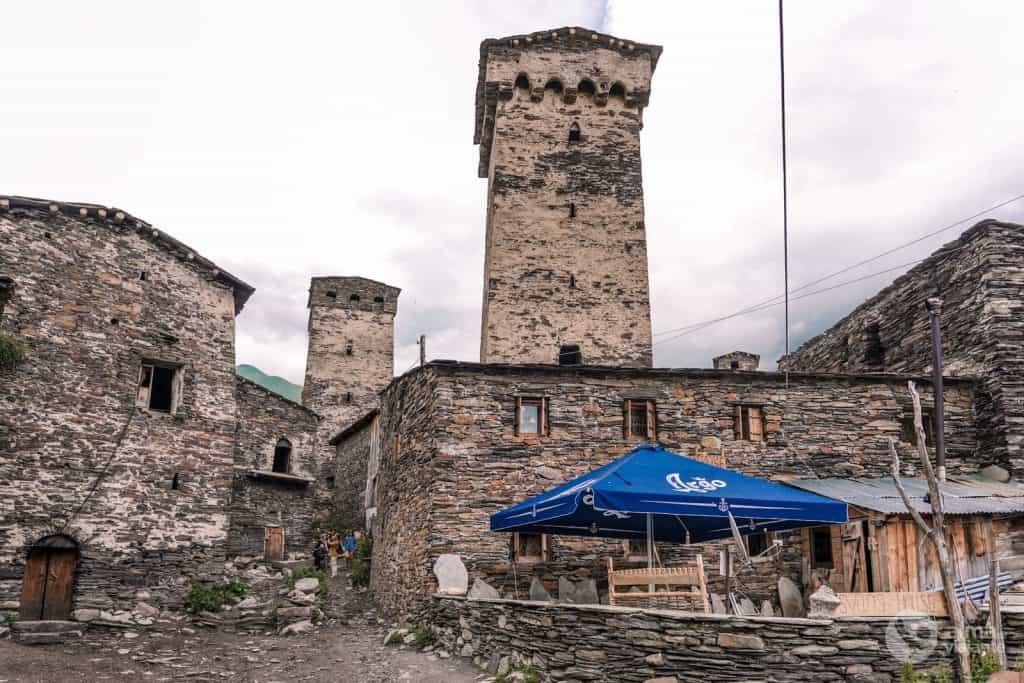 Chazhashi, Svaneti
