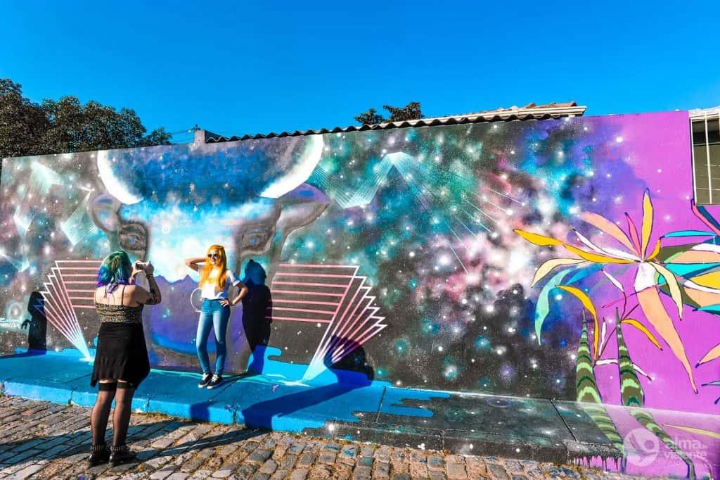 Arte urbano en São Paulo, Brasil