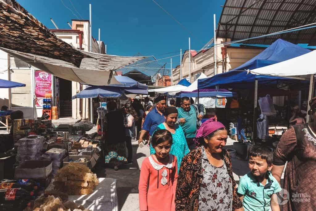 Feria de Urgut, Uzbekistán