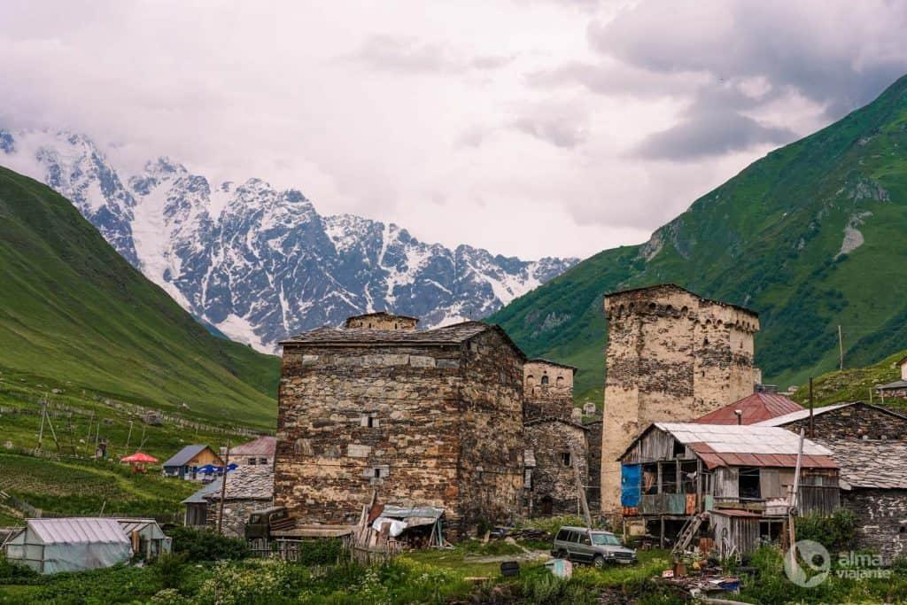 Aldea de Ushguli, Svaneti