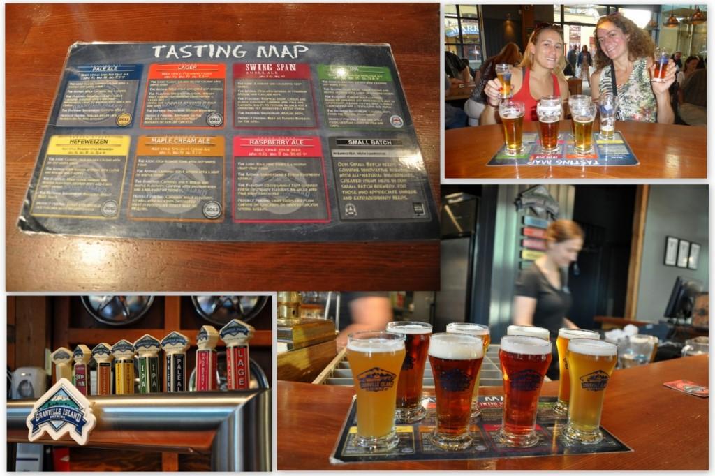 cervecería vancouver granville island