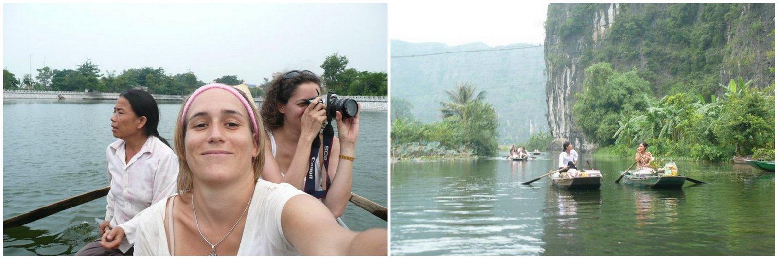 Viaje en barco a Tam Coc (viaje fotográfico y Película)