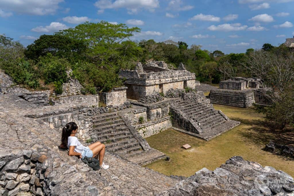 Visita ek'balam, México