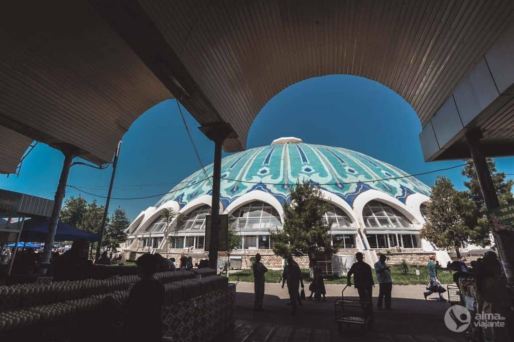 Visita Tashkent: Bazar Chorsu