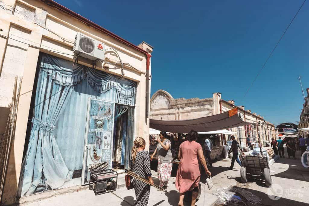 Bazar Urgut, Uzbekistán