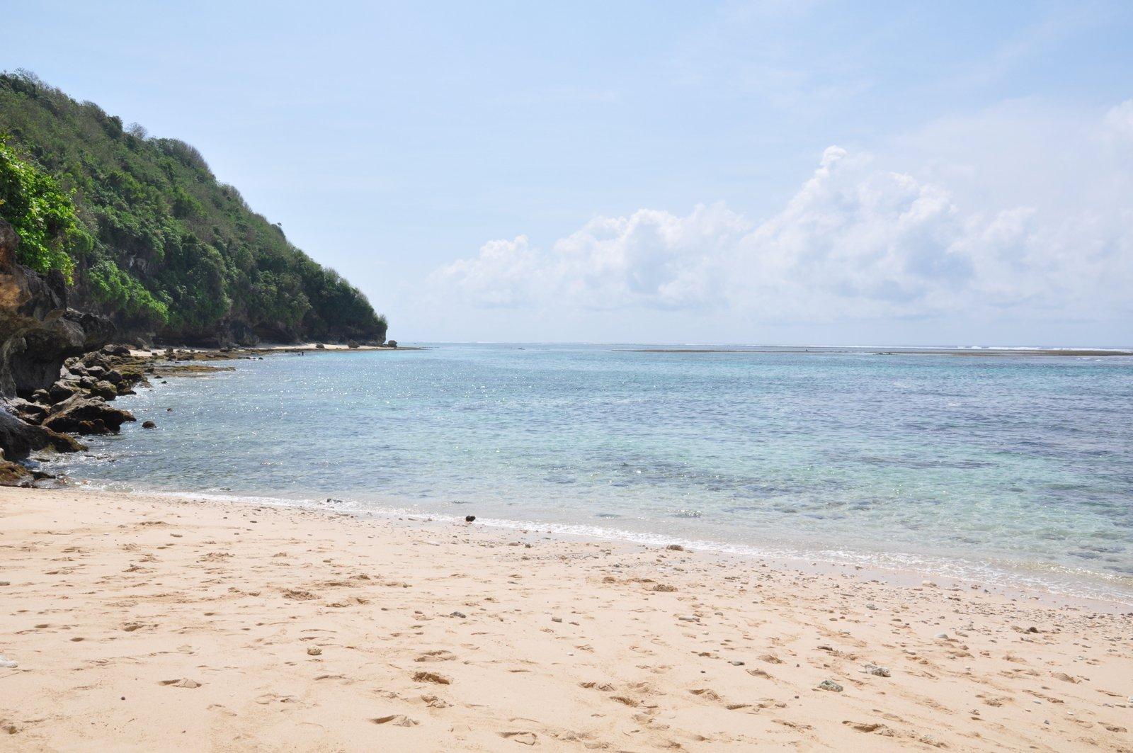 Green Bowl Beach en el sur de Bali