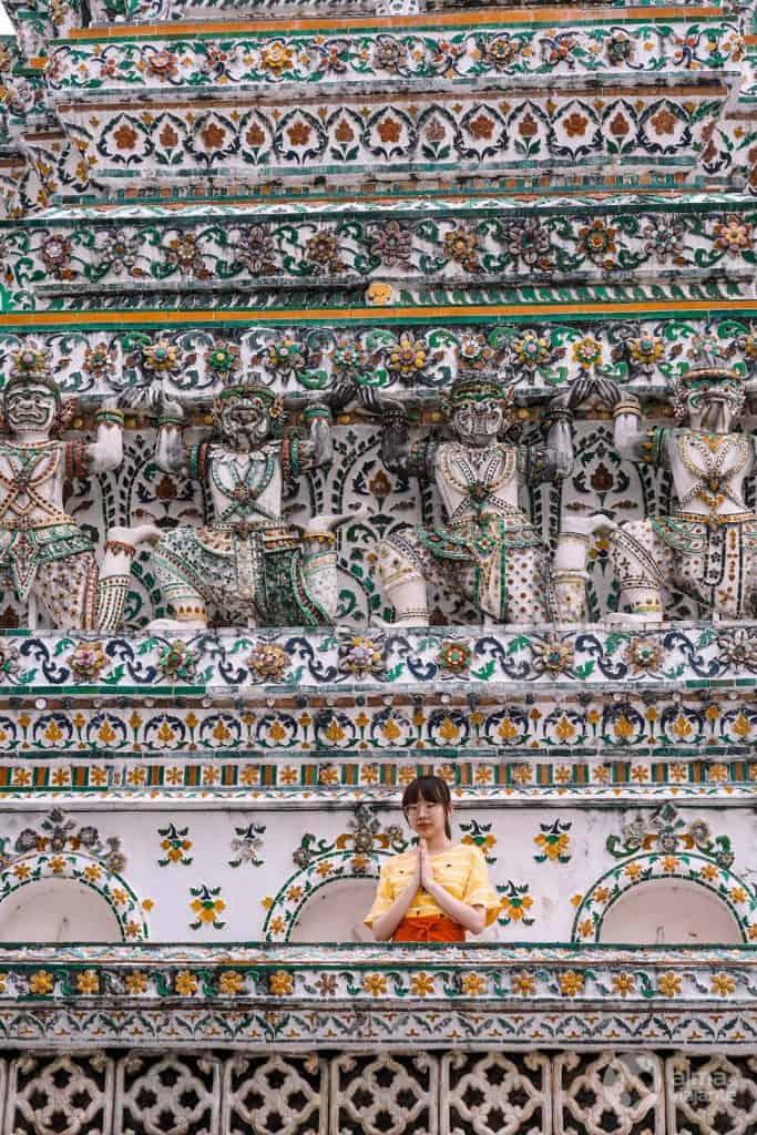 Wat Arum (Templo del Amanecer), Bangkok
