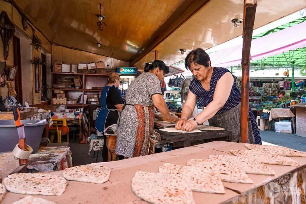 Cosas que hacer en Stepanakert: visitar el mercado