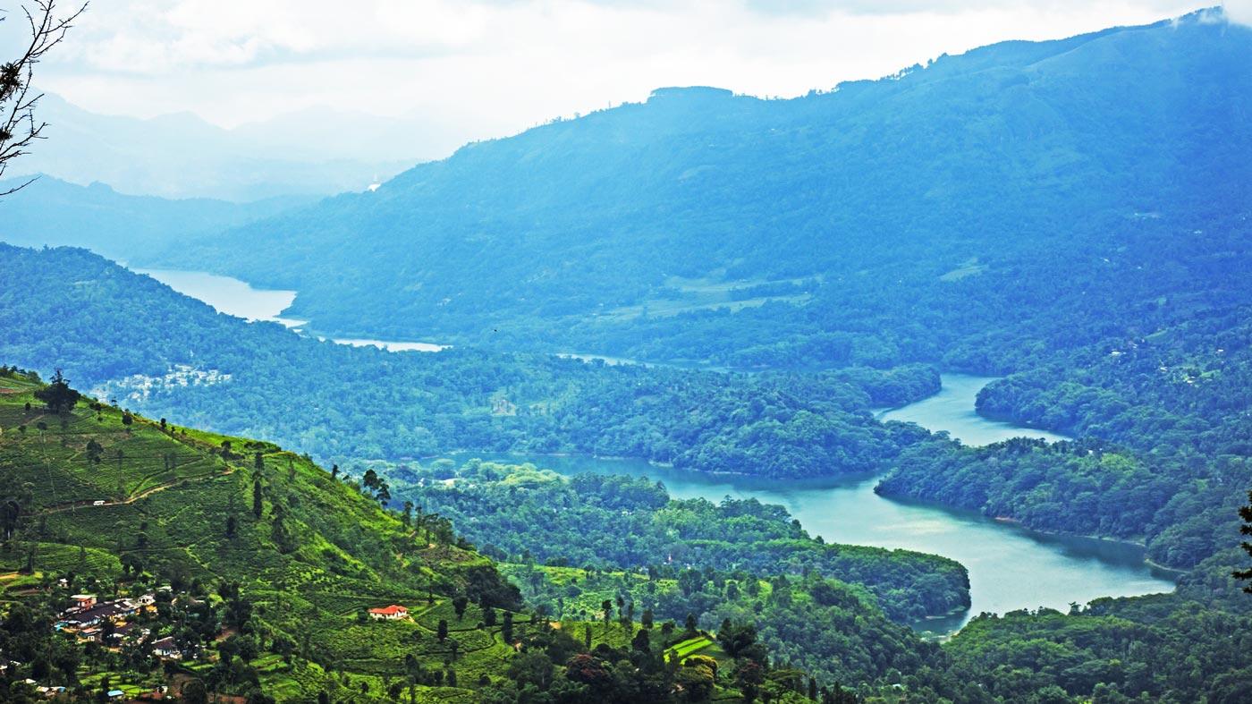 Paisaje de Sri Lanka