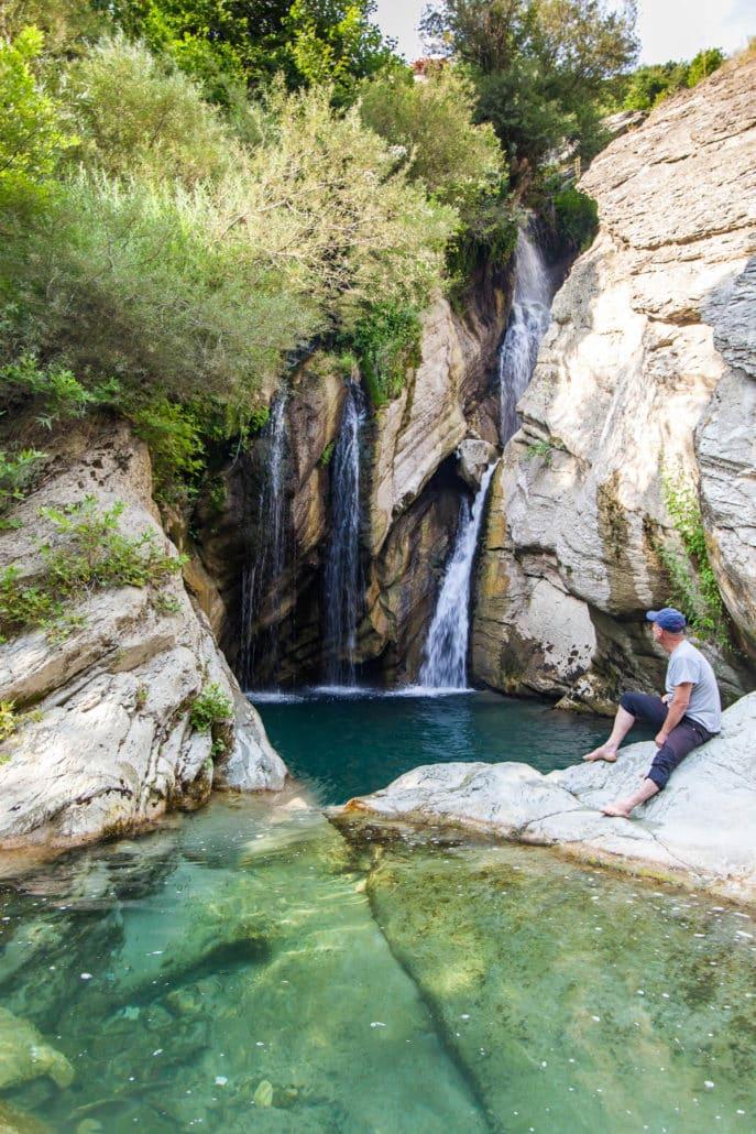 Bogove Waterfall Albania