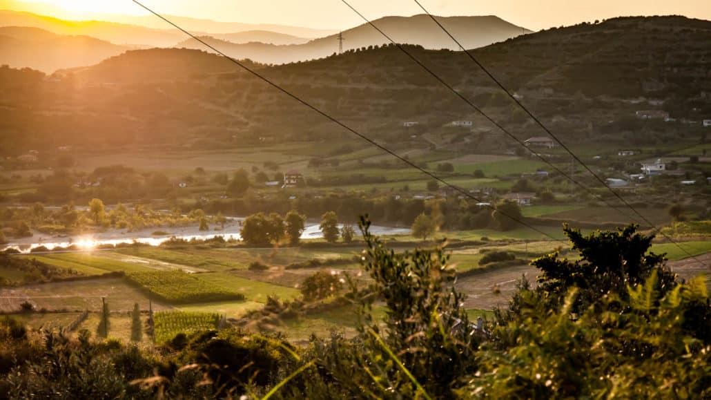 Fotos del Atardecer en Albania