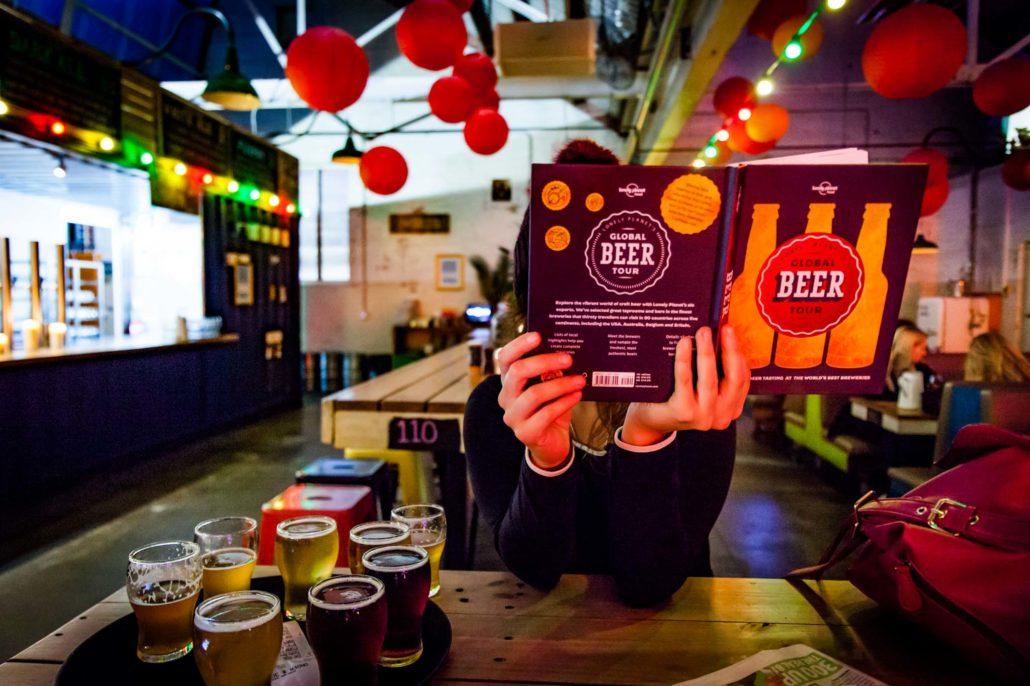 Degustación de cerveza en Little Creatures Brewery