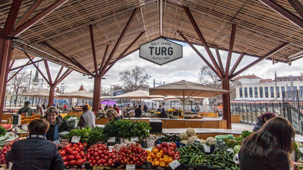 Mercado de Tallin