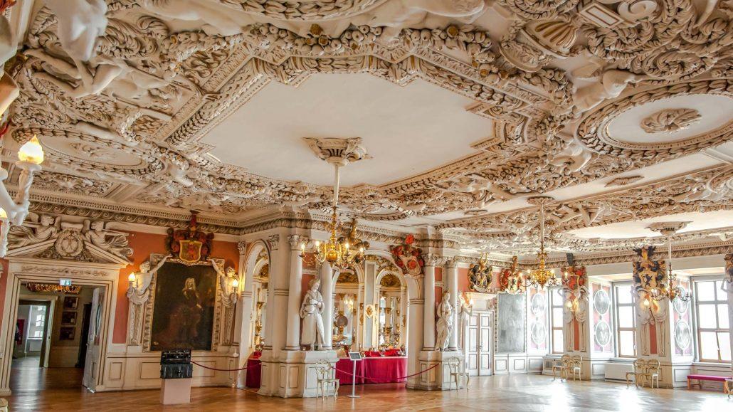 Palacio dentro de Gotha Turingia