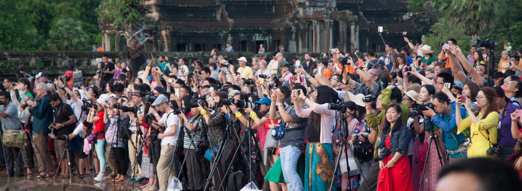 Multitudes de Angkor Wat