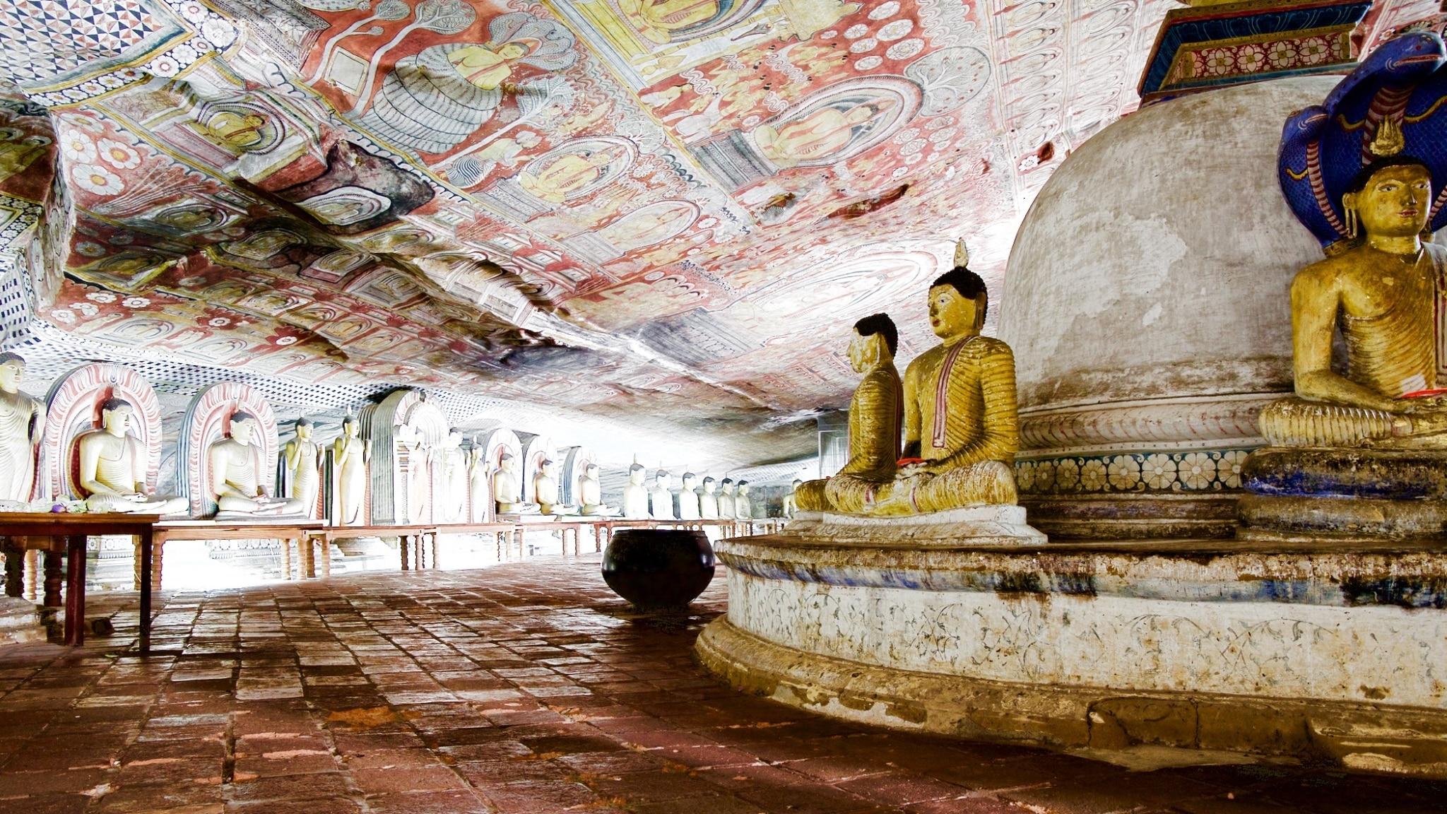 Cuevas de Dambulla Sri Lanka