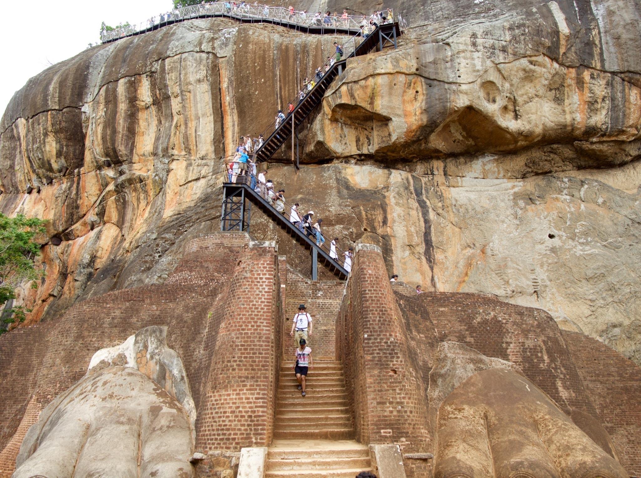 escalada sigiriya rock