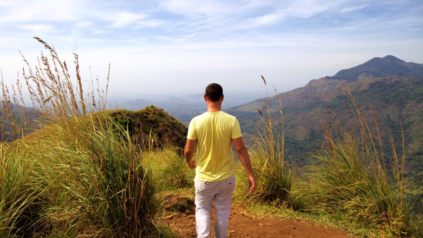 Colinas de Sri Lanka